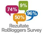 Chestionar pentru bloggeri - rezultate