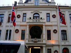 Hotelul Britannia, care ne-a gazduit