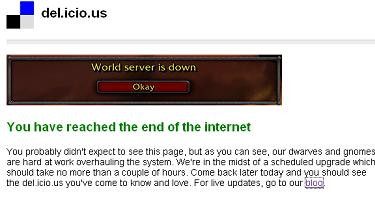 delicious is down