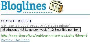 propunere Bloglines