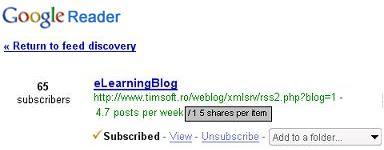 propunere Google Reader